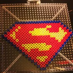 Superman perler beads by theinstakat
