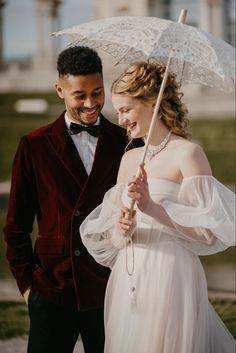 Bridgerton inspired wedding in Vienna