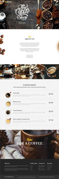 GoResto is multipurpose responsive #WordPress theme for #coffeehouse restaurant, cafe and food business website with 10+ unique homepage layouts download now➩ https://themeforest.net/item/goresto-multipurpose-restaurant-table-booking-wordpress-theme/19507561?ref=Datasata