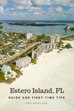 Read about beautiful Estero Island, located between Naples and Fort Myers, FL. #florida #vacation #island