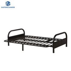 Patio Conversation Metal Sofa Bed Outdoor Furniture Day Bed Chinese Furniture Material : Steel. Frame Material : Metal. Style : Modern. Usage : Hotel, Hospital, School. Usage : Hotel, Hospital, School, Home, Outdoor, Institution. Disassembly : Disassembly. Color : Customized. Customized : Customized. Condition : New. Warranty : 5 Years. Colors for Choose : Black, Grey, White, Green, Blue, Red. Steel Thickness : 0.8mm-1.5mm. Loading Capacity : >150 Kgs. Used for : Adult, Children, Military, Ho Metal Double Bed, Double Beds, Metal Sofa, Metal Beds, Outdoor Daybed, Outdoor Furniture, Steel Metal, Steel Frame