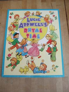 Mabel Lucie Attwell's Rhyme Time  Vintage by libertygrace0 on Etsy