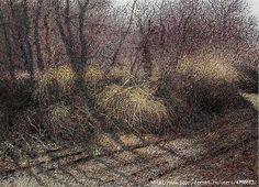 М Марчук Стелились тіні по дорозі, 2004  (604x437, 356Kb)