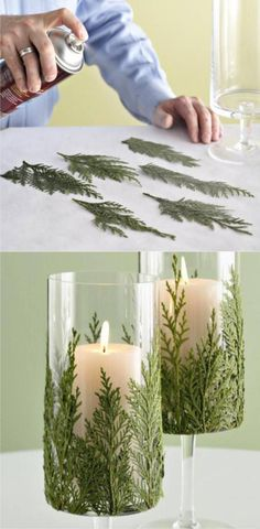 Are you ready for the Christmas Season? Well, I can help you to be ready with these awesome DIY decorating ideas for the holiday. Christmas is a festive season for happiness, love and togetherness. Holiday Crafts, Christmas Crafts, Christmas Ornaments, Holiday Decor, Crafts To Do, Diy Crafts, Diy 2019, Deco Table Noel, Christmas Candle Holders
