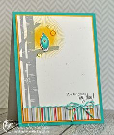 You Brighten My Day from Joyful Creations with Kim using stamps from Avery Elle.