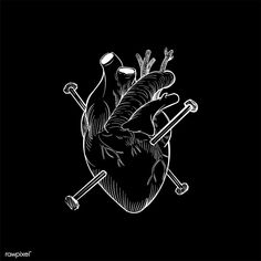 Buy Hit the nail on the head by Rawpixel on PhotoDune. Hit the nail on the head Black Aesthetic Wallpaper, Aesthetic Wallpapers, Adventure Time Characters, Brain Art, Goth Home Decor, Skull Illustration, Head And Heart, Sad Art, Mode Shop