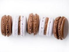 Macarons are so hot right now, it's easy to see why they've captured the attention of sweet fiends and bakers alike. They have a reputation for being fussy, but while they are not the easiest cookie to make, a few with cracked shells still taste just as good as those that emerge from the oven unscarred.