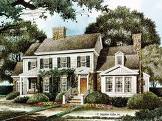 House Plan - Holly Bluff - Stephen Fuller, Inc.