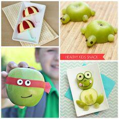 Adorable Apple Snacks for Kids to Make & Eat