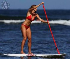 Keep fit. Have fun. Stand up Paddle Surfing