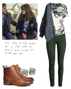 """""""Emma Decody - Bates Motel"""" by shadyannon ❤ liked on Polyvore featuring H&M, MANGO and Topshop"""