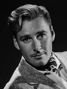 oh Errol Flynn and his moustache
