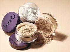 Transparant Powder. Matteer je huid met deze geweldige losse poeders.