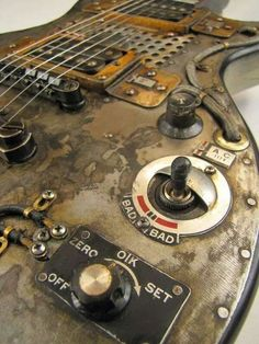 Industrial style:)  #guitarticle guitarticle.com