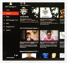 Log into damagenetwerktv.net to see episodes of the shows on DENT damage entertainment netwerk television (DENT Damage TV). http://ift.tt/2m92KxM