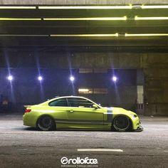 Lowered BMW. Body kit: @rolloface  #rolloface #bmw #bimmer #m3 #335i #e92 #e93 #widebodybmw #carbonfiber #brakes #amazing #tbt #sexy #stance #slammed #lowered
