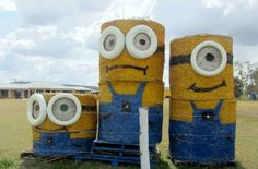 20 Ordinary Hay Bales Turned Into Stunning Art
