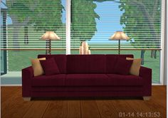 Corduroy/Twill recolours for the modular sofas - these look so comfy!