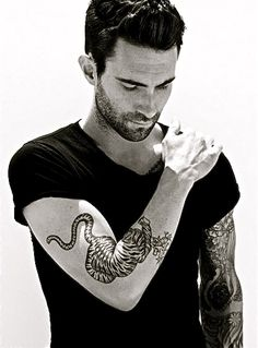 Love a man with ink!!! Adam today is your lucky day!
