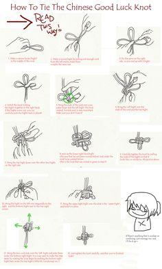 Chinese Good Luck Knot by ~Luna-Veil on deviantART
