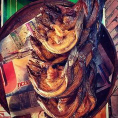 Dried fish for stock making at a local food market in Sukhothai Fish, Meat, Travel, Beef, Trips, Traveling, Tourism, Ichthys, Outdoor Travel