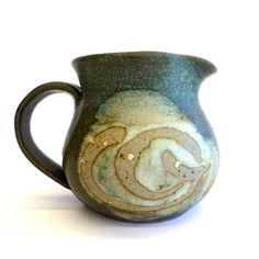 Fay Eastwood Pottery Milk Jug, Australian Studio Pottery, Tamworth NSW Australia.