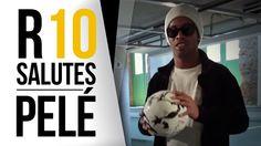 Ronaldinho Gaúcho pays tribute and challenges Pelé on freestyle