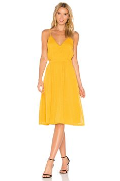 House of Harlow 1960 x REVOLVE Ines Dress in Mustard | REVOLVE