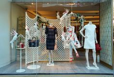 Mulberry Window Display | Spring Summer, 2014 by Millington Associates