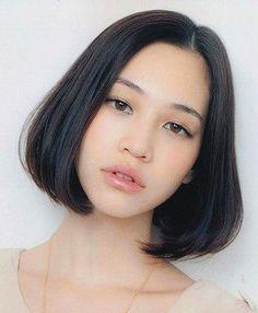 【髪型】真似したい♡おしゃれで可愛いワンレンボブ画像まとめ◇水原希子etc. | まとめアットウィキ - スマートフォン