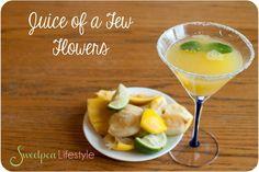 Sweetpea Lifestyle: Back to Basics: Juice of a Few Flowers