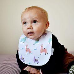 Llama Print, Cake Smash Outfit, Terry Towel, Brand Collection, Baby Alpaca, Waterproof Fabric, Llamas, Fabric Dolls, Burp Cloths