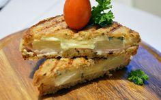 Lämmin pariloitu leipä, jonka voi valmistaa voileipägrillissä. Hawaii, Sandwiches, Toast, Hawaiian Islands