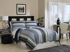 Opentip.com: PEM America QS8062TW-2320 Water Mill Twin Quilt with Pillow Sham