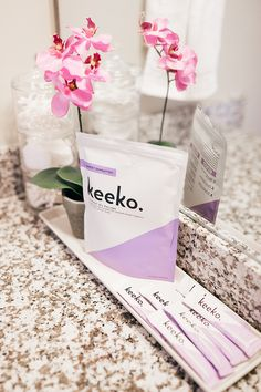 Keeko oil pulling for natural teeth whitening