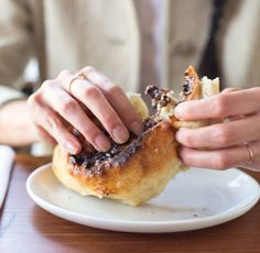 How chocolate, ricotta, bread, and a wood-fired oven got together to make a truly killer pastry in the latest Pastry of the Week.