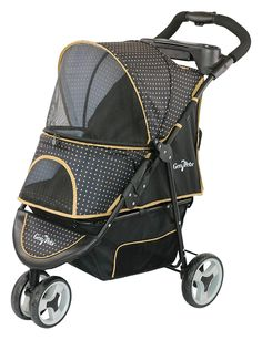 Gen7Pets Promenade Pet Stroller, Gold Nugget * New and awesome dog product awaits you, Read it now  : Dog strollers