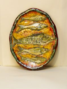 Fish Plate; SOLD