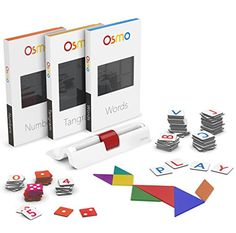 Osmo Genius Kit-Award-winning hands-on game system, fosters creativity & problem solving skills
