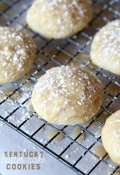 Vintage French Soul ~ Kentucky Butter Cake Cookies