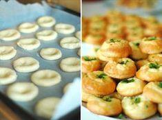 hami mnami: kysnuté bryndzové koláčiky