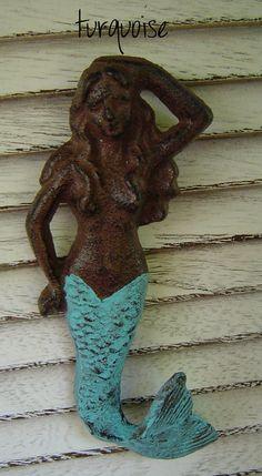 CLEARANCE SALE MERMAID Hook Vintage Sea by SundayTreasures on Etsy, $8.95