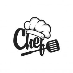 Chef Logo Vector - More than 3 millions free vectors, PSD, photos and free icons. Exclusive freebies and all graphic re - Logo Restaurant, Bakery Logo, Restaurant Kitchen, Kitchen Logo, Kitchen Art, Logo Chef, Logo Food, Food Logo Design, Identity Design