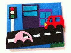 Just For Daisy :: DIY Felt Board Gift Idea