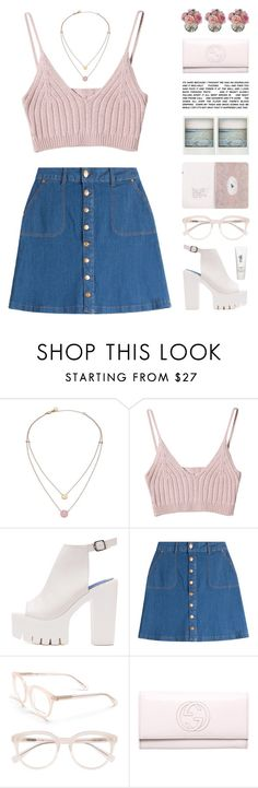 """""""Liarbird - The Growl"""" by chelseapetrillo ❤ liked on Polyvore featuring Michael Kors, HUGO, Derek Lam, Polaroid, Gucci, Diane James and H2O+"""