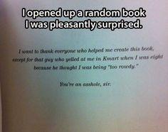 A pleasant surprise…