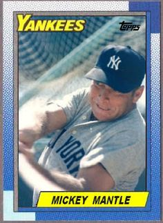 58c03bf16 Cards That Never Were  1990 Topps Yankees Baby