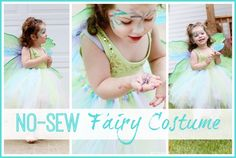 NO-SEW Fairy Costume - Sugar Bee Crafts