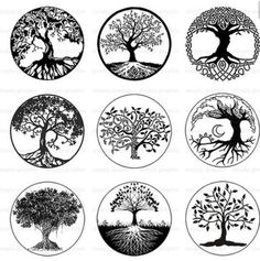 Disegno Idea per tatuaggio Albero della Vita - Lei Trendy