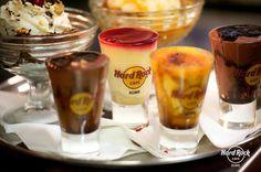 Dessert at Rome Hard Rock Cafe